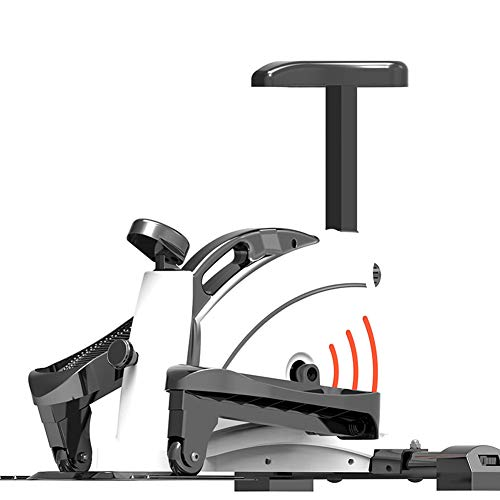 HJKHNK Cross Trainers Exercise Machine 120kg, Bike Folding Home Elliptical Sports 2-in1 Bike-Fitness Cardio Workout Machine Weight Loss Machine Fitness Exercises