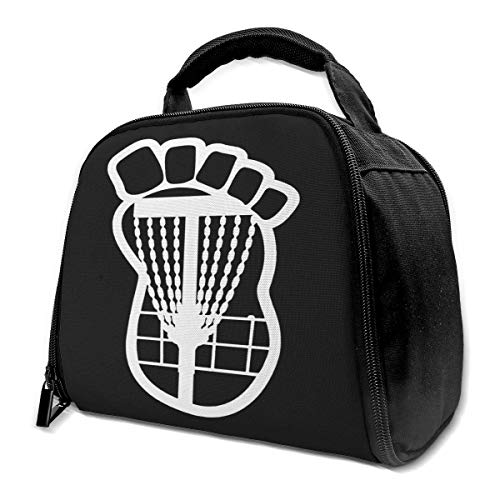 Disc Golf Basket Chains Insulated Bag Lunch Bag Insulated Lunch Box Tote...