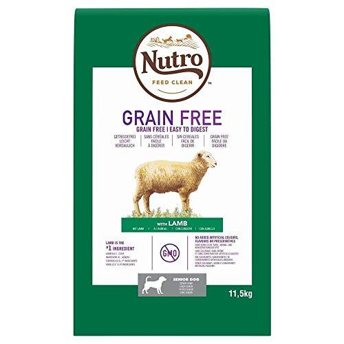 Pienso para Perro Nutro Grain Free Senior Cordero 11,5kg