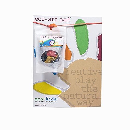 eco-kids Rock Crayons & Eco-Art Pad Set