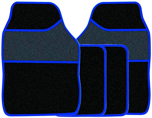 Automatic 100/% passform Fussmatten Autoteppiche Silber Rot Blau Mercedes W163