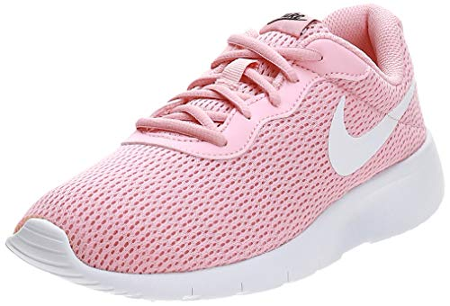 Nike Tanjun (GS) Shoe, Scarpe da Running Bambine e Ragazze, Multicolore (Bleached Coral/White/Black 605), 37.5 EU