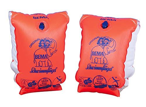 BEMA® Original Schwimmflügel, orange, Größe 2, 12+ Jahren, 60+ kg
