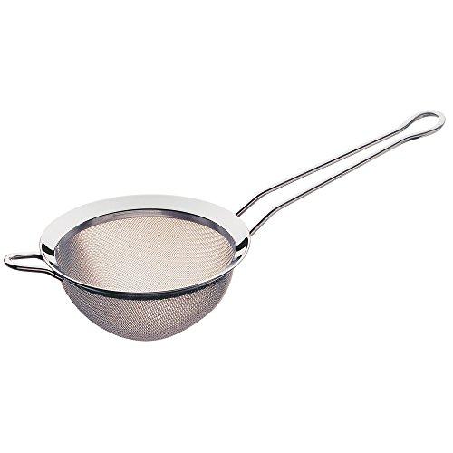 WMF Gourmet Küchensieb klein 8 cm, Teesieb Edelstahl, kleines Sieb, Cromargan Edelstahl poliert, spülmaschinengeeignet