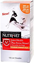 Nutri-Vet Hip and Joint Health Plus Chewables for Dogs, 100 Count