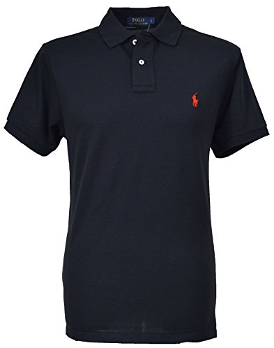 Ralph Lauren Men's Polo Shirt 71055866 Noir - Noir - Large