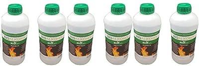 6L Bioethanol Liquid Fuel Eco Line Premium Grade Quality, Clean Burn Bio Ethanol