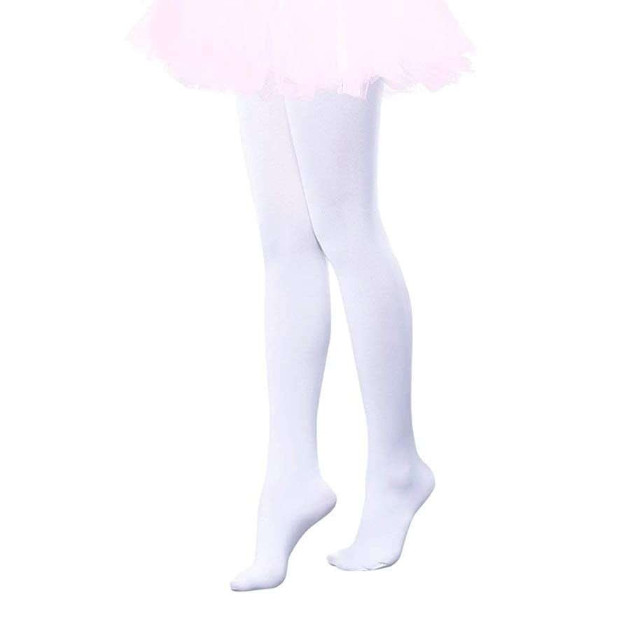 Girls Footed Dance Tights Ultra Soft Ballet Students School Tight