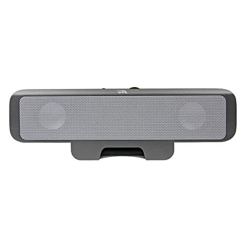 Portable USB laptop speaker - designed for computer travel by Cyber Acoustics (CA-2880),Black