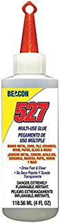 BEACON 5274OZ 527 Multi-Use Glue with Hang Top, 4-Ounce