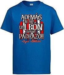 Camiseta además de ser un León Soy un padrazo Bilbao fútbol