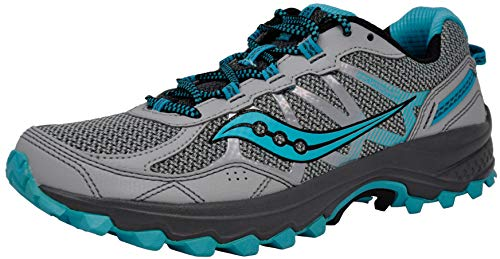 Saucony Women's Excursion TR11 Grey/Blue Running Shoes 7.5 M US