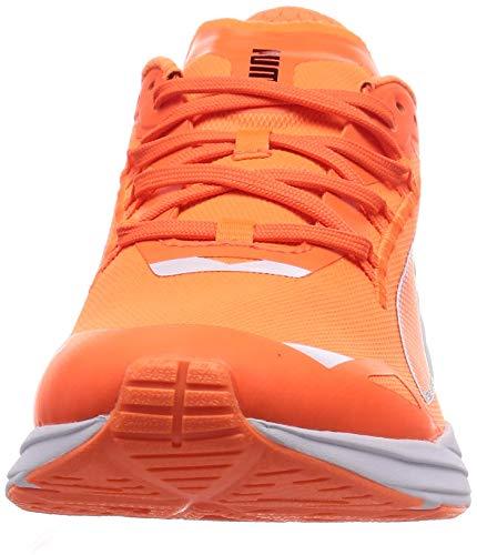 PUMA ULTRARIDE Runner ID, Zapatillas para Correr de Carretera Hombre, Naranja (Ultra Orange/Metallic Silver), 39 EU