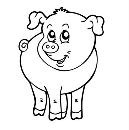 YAZCC Wandaufkleber Dekoration Babyzimmer Schönes Tierverhalten Wandtattoo 44X57Cm