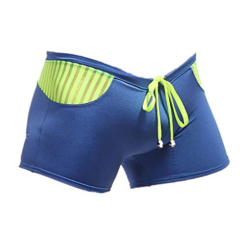 YCQUE Herren-Badeshorts Atmungsaktiv Sommermode Lässig Täglich Bermuda Shorts Einfache Trainingshose Herren Badeanzüge Badehose Boxershorts Badeanzüge Strandhosen mit Kordelzug