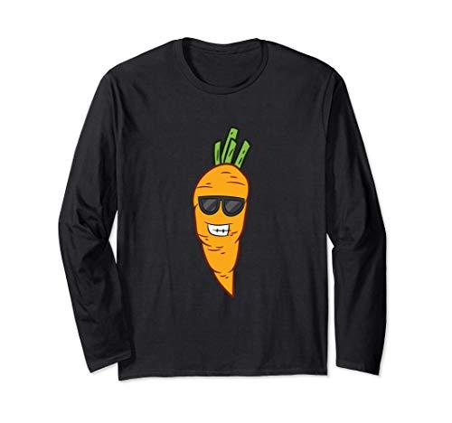 Zanahoria Disfraz de Halloween Zanahorias vegetales Manga Larga
