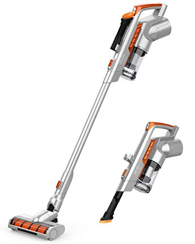 GOOVI Cordless Vacuum Cleaner, New Upgraded Version of Brush Head, 60 Minutes Long Runtime, Vacuum...