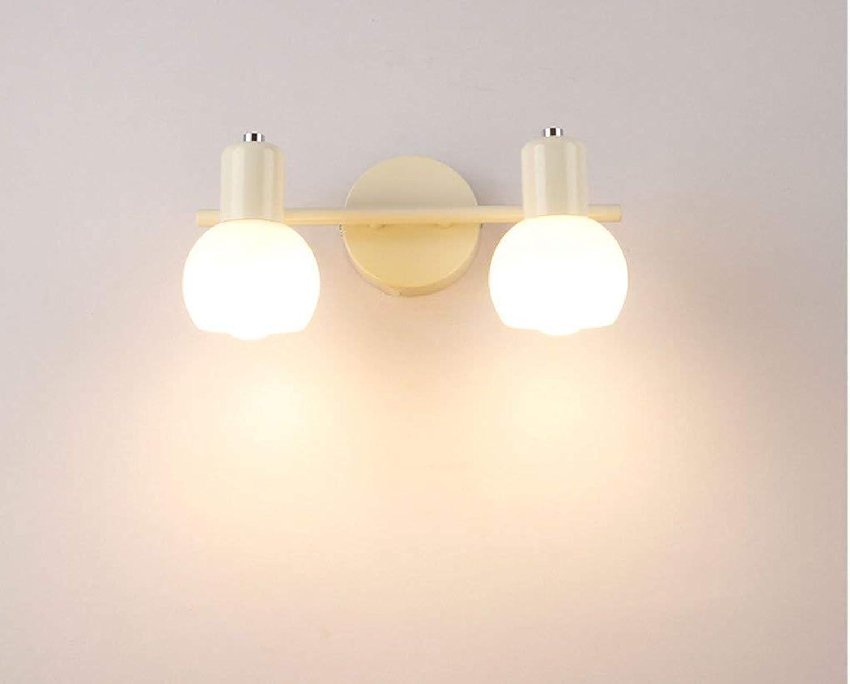SCJ Spiegel frontleuchten, europischen Stil Spiegel frontleuchte led einfache Moderne licht Schlafzimmer bilden wc Lichter wasserdicht, Anti-Fog (Farbe  wei)