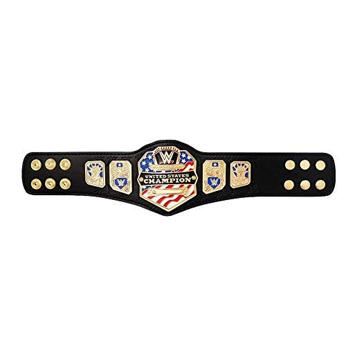 WWE Authentic Wear United States Championship (2014) Mini Replica Title Belt Multi