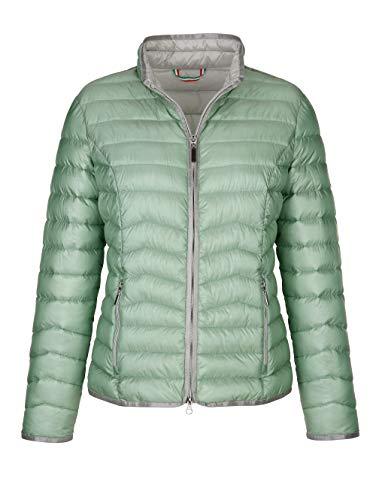 Alba Moda Steppjacke mit Green Goose Ausstattung Salbeigrün