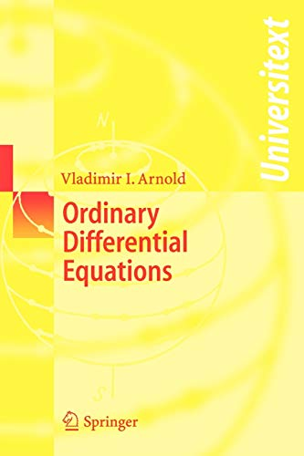 Compare Textbook Prices for Ordinary Differential Equations Universitext 58291st Edition ISBN 9783540345633 by Arnold, Vladimir I.,Cooke, R.