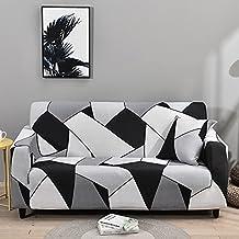 Housse de canapé d'impression de Salon Moderne, Housse de canapé Extensible élastique de Combinaison d'angle, Housse de ca...