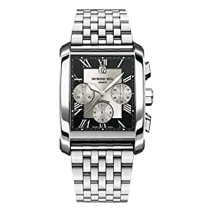 Raymond Weil Men's 4878-ST-00268 Don Giovanni Rectangular Case Automatic Movement Watch image