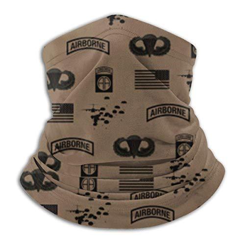 Emonye Bandana Scarf,82nd Airborne Division Pattern Cool For Climbing Headwear Scarf,25x30cm