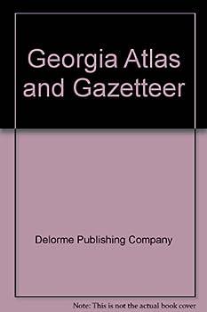 Georgia Atlas & Gazetteer  Delorme Atlas & Gazetteer