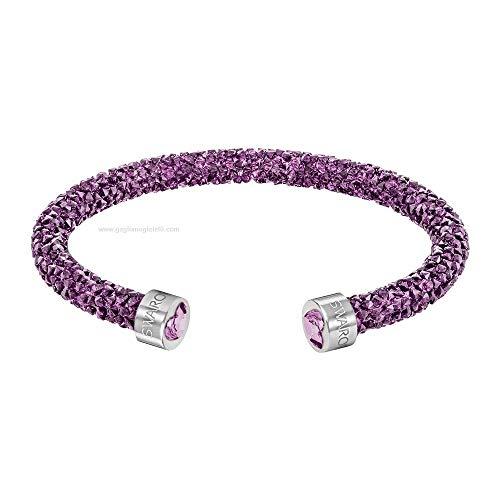 Swarovski Brazalete para Mujer en Cristales Lila 5,8cm–5278499