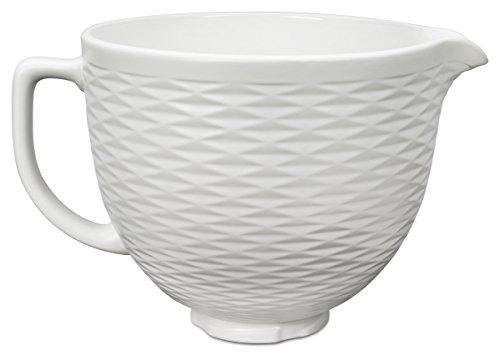 Kitchenaid 5KSM2CB5TLW Keramikschüssel 4,8 L-weiß