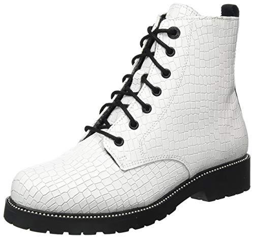 s.Oliver Damen 5-5-25234-25 Stiefelette, White Croco, 38 EU