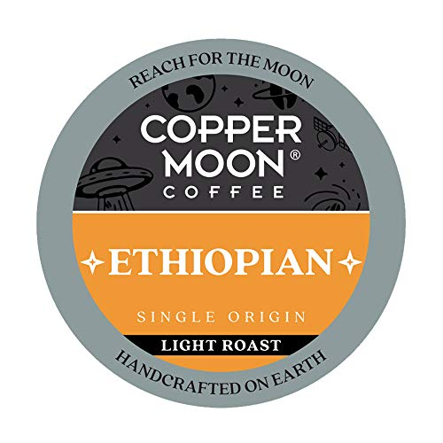 Copper Moon Ethiopian Origin, Light Roast Coffee Pods Compatible with...