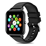 Yocuby Smart Watch for Men Women, 1.4' Touch Screen Sport Smartwatch for iOS Android Phone,IP68 Waterproof, Heart Rate/Sleep Monitor, All Day Fitness Tracker (Renewed)