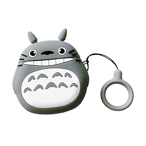 BONTOUJOUR Bontujour® AirPods Schutzhülle für AirPods mit lustigem My Neighbor Totoro Family Design AirPods Pro lachend Totoro