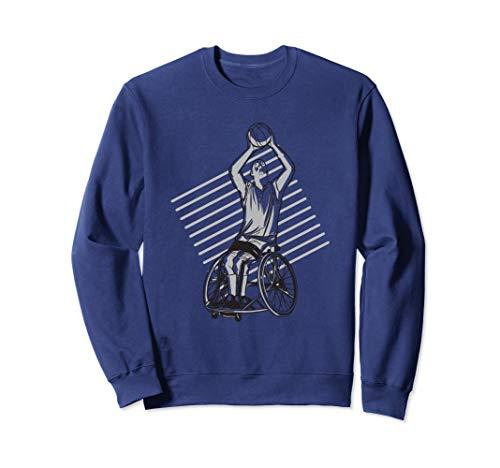 Rollstuhlbasketball Rollstuhl Basketball Sport Sweatshirt