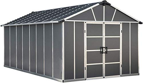 Palram Yukon Shed With floor/Without floor (11x17.2 without floor)