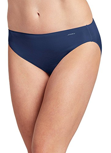 Jockey Women's Underwear No Panty Line Promise Tactel Bikini, Just Past Midnight, 6