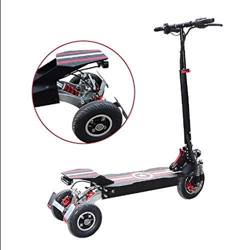 YCLF patinete eléctrico tres ruedas plegable Opiniones