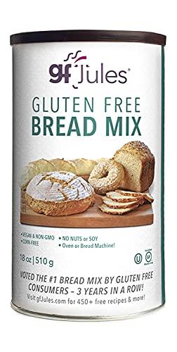 gfJules Bread Mix, Certified Gluten Free, Top 8 Allergen Free, Kosher, 18oz Can
