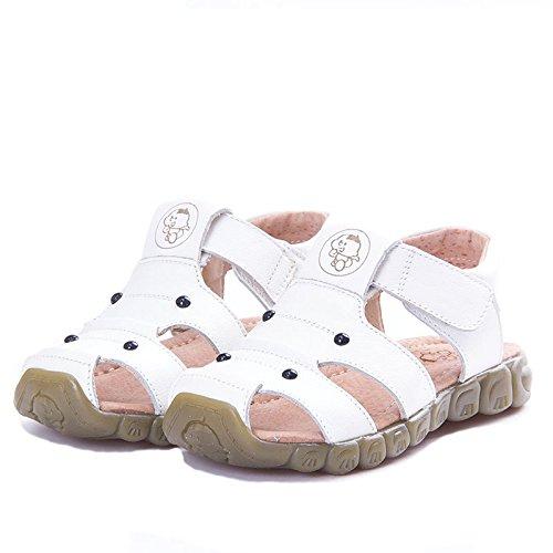 Eagsouni Unisex Kinder Sandalen aus weichem Leder - 3