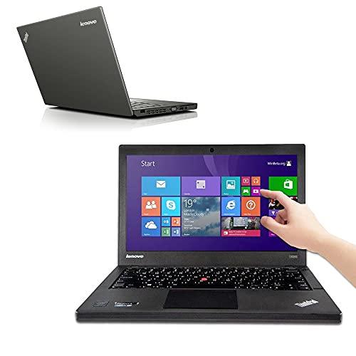 COMPUTER PORTATILE Lenovo X240 i5 4200U fino a 2.6 GHz Display 12,5' TOUCHSCREEN Batteria Nuova Laptop Notebook PC Windows 10 Pro Webcam (Ricondizionato) (8GB RAM SSD 120GB)