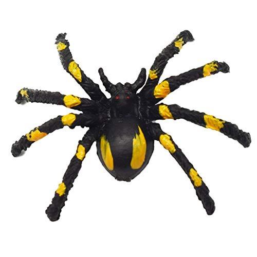 ghfcffdghrdshdfh simulatie Spider speelgoed trompet Flower Spider Black Horror Scary Spider
