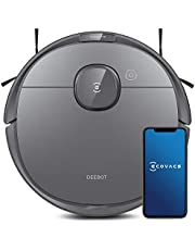 Ecovacs Deebot T8 Robot Vacuum & Mop Cleaner with Advanced Object Detection and Avoidance, Lidar Navigation & Multi-floor Mapping, Selective Cleaning, Ideal for Hard floors and Carpet, 3 Hrs Runtime