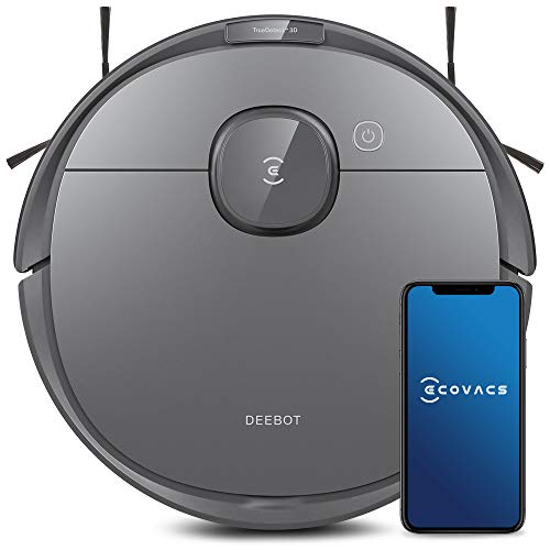 Ecovacs Deebot T8 Robot Vacuum & Mop Cleaner with Advanced Object Detection and Avoidance, Laser Navigation & Multi-Floor Mapping