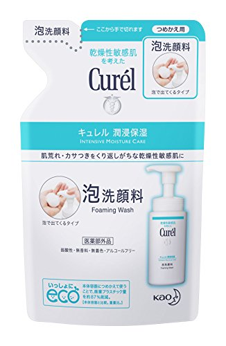 Curel JAPAN 130ml refill Curel foam cleanser