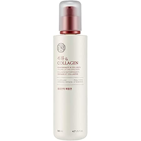 The Face Shop Pomegranate & Collagen Volume Lifting Emulsion, 140 Ml