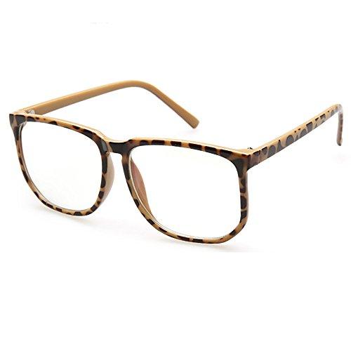 SHEEN KELLY Oversized Grand cadre Lunettes Carré de lunettes