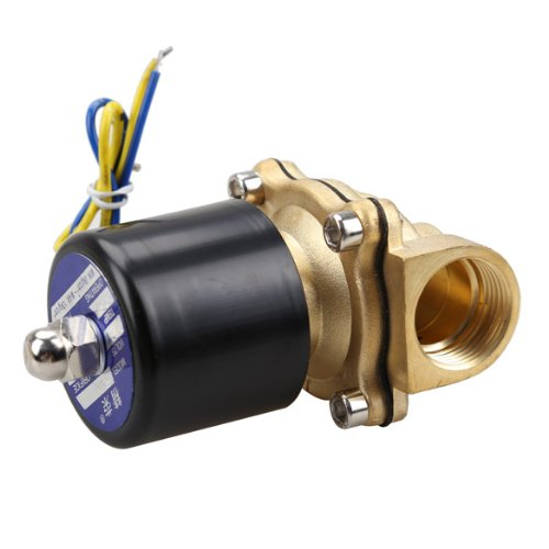 Vktech 2W-200-20 3 4 Inch Brass Electric Water Valve Solenoid Wholesale Ai Limited price sale