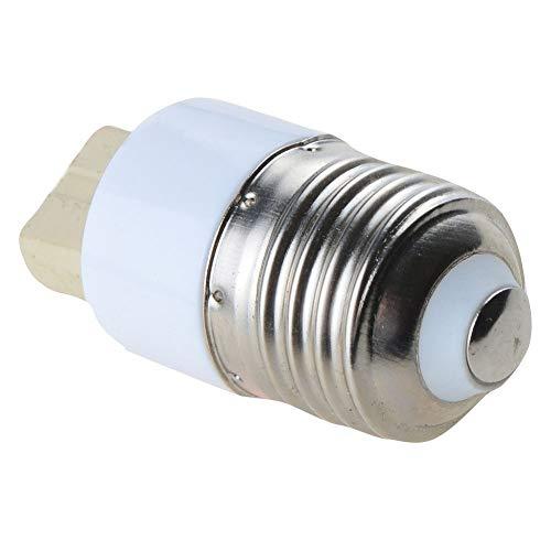 YXZQ Repuestos para bulbos a LED LED Bombilla Base del zócalo del convertidor del Adaptador del Tornillo E27 a G9 Decoración hogareña (Size : 5pcs)